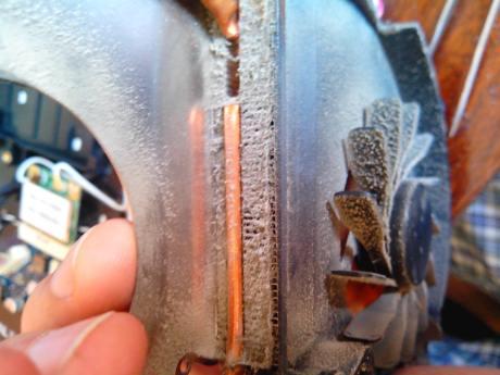 samsung RF710-S02 забитый пылью радиатор