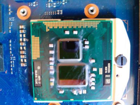 samsung RF710-S02 процессор с графическим ядром, которое расположили рядом