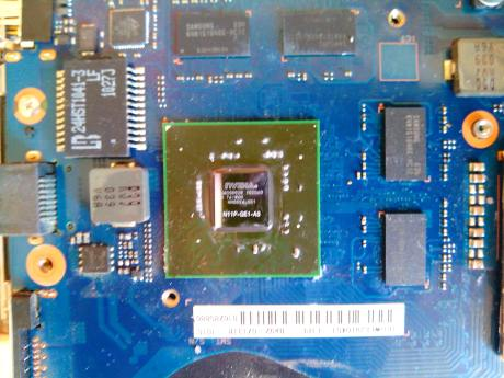 samsung RF710-S02 чип видеокарты nvidia
