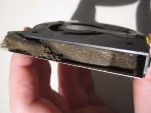 вентилятор ноутбука забитый пылью