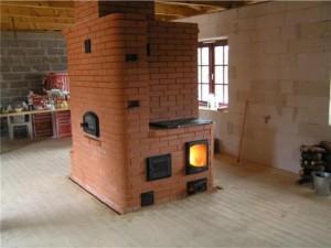 печное отопление в деревянном доме_3