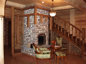 печное отопление в деревянном доме_2