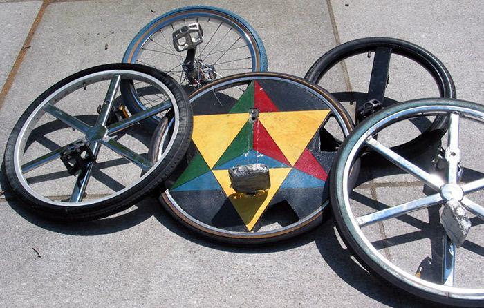 ultimate wheel простой одноколесный велосипед