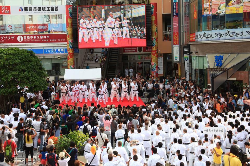 Karate Day in Okinawa