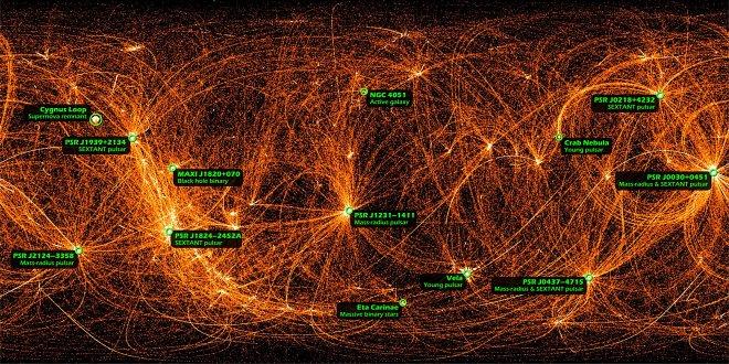 Снимок галактики