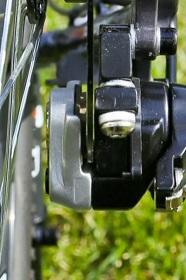 Правильное расположение ротора относительно колодок